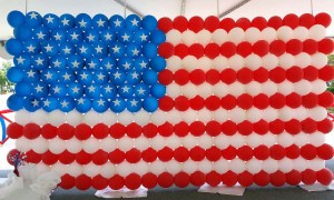 Balloon American Flag, by Balloonopolis, Columbia, SC