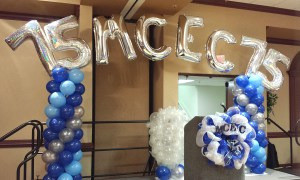 Megaloon Balloon Columns, Balloon Numbers and Letters, by Balloonopolis, Columbia, SC