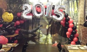 2015 balloon arch, Balloon Numbers and Letters, by Balloonopolis, Columbia, SC