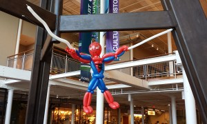 Balloon Superhero decor, by Balloonopolis, Columbia, SC