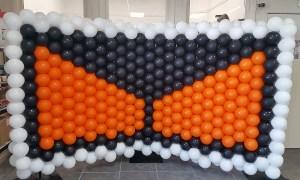 Gateway, Inc. Logo, Balloon Wall, by Balloonopolis, Columbia, SC