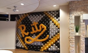 Puttin' on the Ritz, balloon wall for Prom, Balloon Numbers and Letters, by Balloonopolis, Columbia, SC