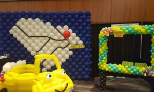 All Roads Lead to Myrtle Beach - Trade Show Booth Decor - Balloonopolis, Columbia, SC