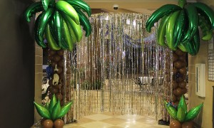 Tropical Palm Tree for Prom, by Balloonopolis, Columbia, SC