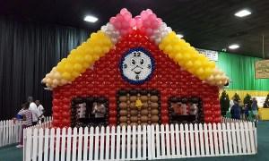 SC State Fair, Balloon Schoolhouse, by Balloonopolis, Columbia, SC - State Fairs