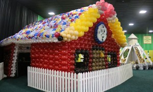 SC State Fair - Balloon Schoolhouse, by Balloonopolis, Columbia, SC - State Fairs