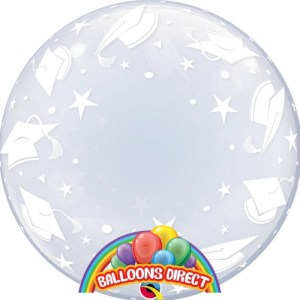 "custom 22"" graduation hats bubble balloon from balloons direct"