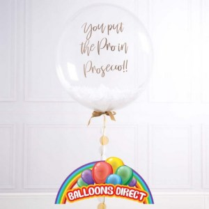 "custom 22"" text bubble balloon from balloons direct"