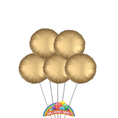 Gold Balloon Bouquet