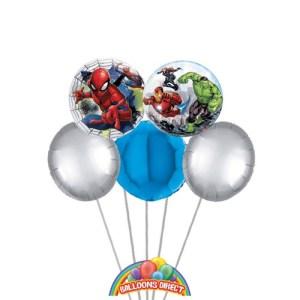 Spider Man Balloon Bouquet