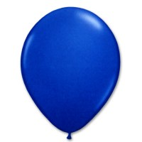 Bright Royal Blue Latex Party Balloon 12 inch from Balloon Shop NYC