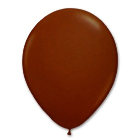 Chocolate Latex Party Balloon 12 inch from Balloon Shop NYC