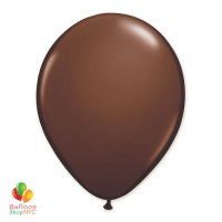 Chocolate Brown Latex Balloon 12 inch delivery Balloon Shop NYC