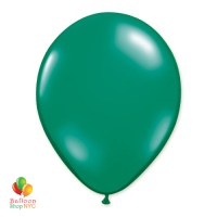 Emerald Green Latex Party Balloon 12 inch Inflated Delivery Balloon Shop NYC