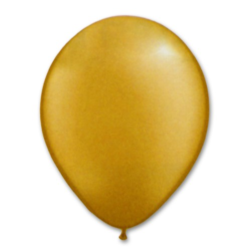 Goldenrod Latex Party Balloon 12 inch from Balloon Shop NYC