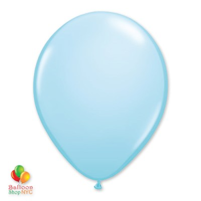 Light Blue Latex Party Balloon 12 inch Inflated Delivery Balloon Shop NYC