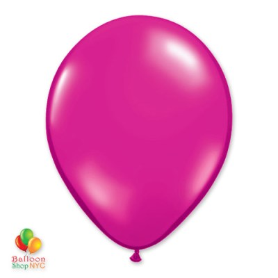 Magenta Latex Party Balloon 12 inch Delivery Balloon Shop NYC