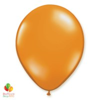 Mandarin Orange Latex Party Balloon 12 Inch Inflated delivery Balloon Shop NYC