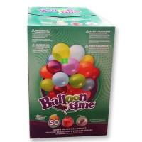 Helium Disposable Tank and Latex Balloons Large Kit from Balloon Shop NYC