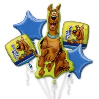Scooby Doo Close Up Balloon Bouquet from Balloon Shop NYC