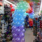 Party Balloons Rainbow Garland