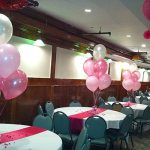 Pink Party Theme Balloons Decoration