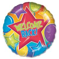 Welcome Back Mylar Party Balloon from Balloons Shop NYC