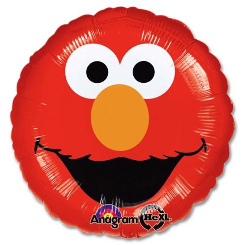 Elmo Smiles Mylar Party Balloon from Balloon Shop NYC