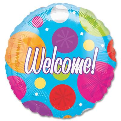 Welcome Party Balloon from Balloons Shop NYC