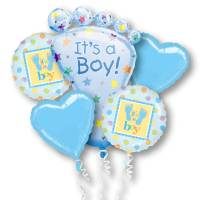Its a Boy Balloon Bouquet from Balloons Shop NYC