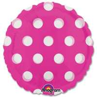 Pink Dots Magicolor Party Balloon from Balloons Shop NYC