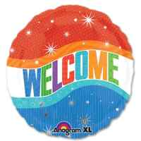 Warm Welcome Mylar Party Balloon from Balloons Shop NYC