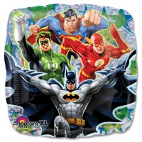 Justice League Mylar Balloons from Balloon Shop NYC