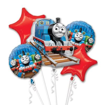 Thomas the Tank Mylar Party Balloon Bouquet from Balloons Shop NYC
