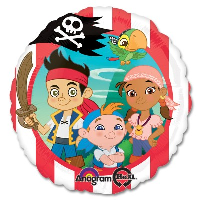 Jake - Never Land Pirates Mylar Party Balloon From Balloon Shop NYC