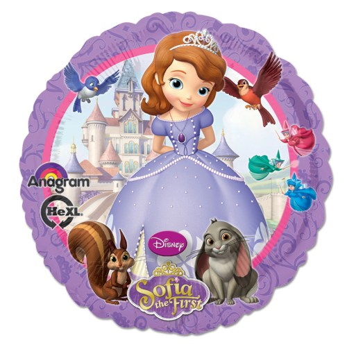 Sofia The First Disney Princess Mylar Balloon from Balloon Shop NYC