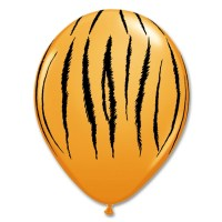 Tiger Stripes Printed Latex Balloon from Balloon Shop NYC