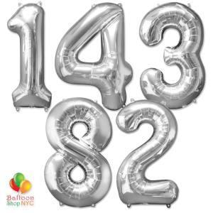 Express Order Jumbo Numbers Foil 40 inch Balloon