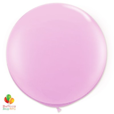 Jewel Real Pink RoundJewel Real Pink Latex Party Balloon 17 inch Inflated Round Delivery Balloon Shop NYC