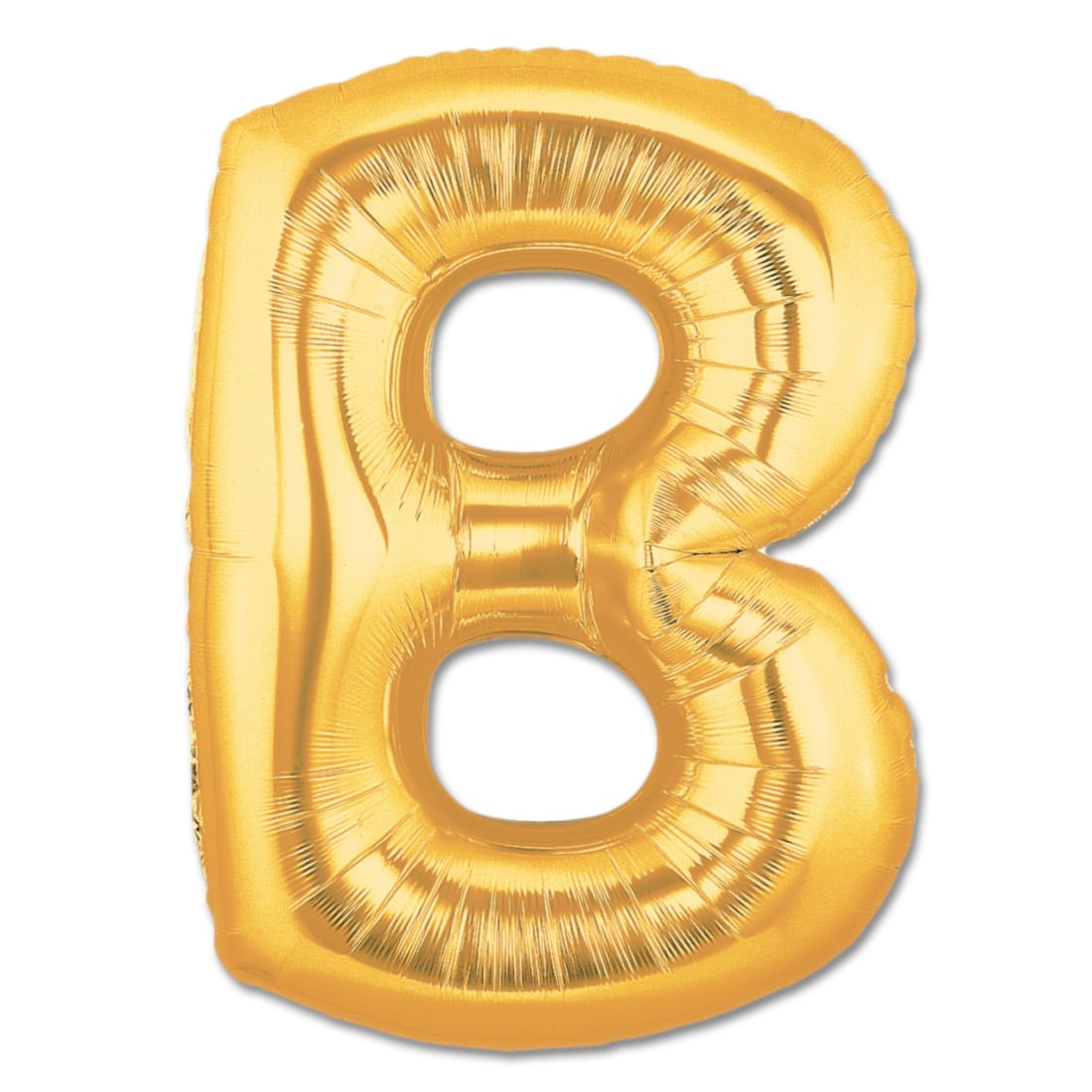 letter b gold giant foil balloon 40 inch inflated