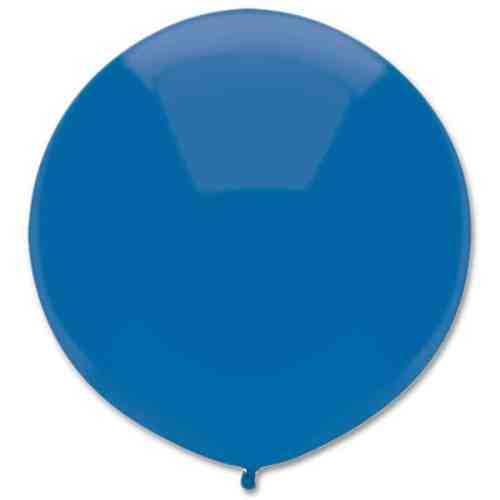 Latex Party Balloon 17 Round Midnight Blue from Balloons Shop NYC