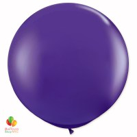 Regal Purple Round Latex Party Balloon 17 inch Inflated -cheap balloons nyc delivery