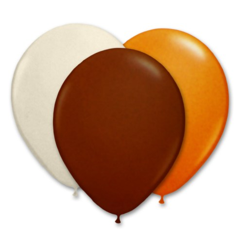 Ultimate Chocolate Latex Party Balloons 12 inch from Balloon Shop NYC