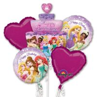 Disney Princess Birthday Cake Balloon Bouquet from Balloon Shop NYC