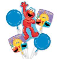 Sesame 1st Birthday Balloon Bouquet from Balloons Shop NYC