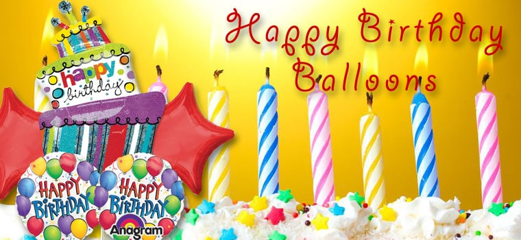 Happy Birthday Balloons Collection