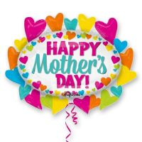 Happy Mothers Day SuperShape Jumbo Mylar Balloon delivery From Balloons Shop NYC