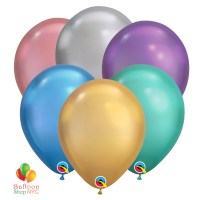 Chrome Latex Party Balloons Bouquet Assorted Colors delivery from Balloon Shop NYC