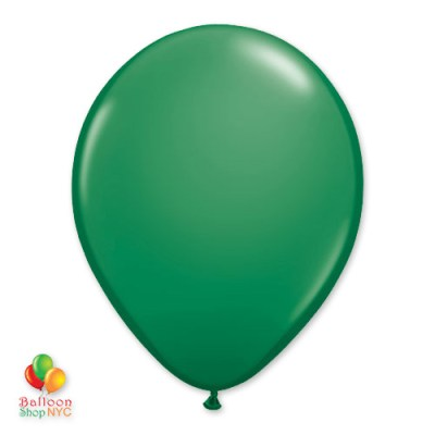 Green Latex Party Balloon 11 inch Inflated delivery Balloon Shop NYC