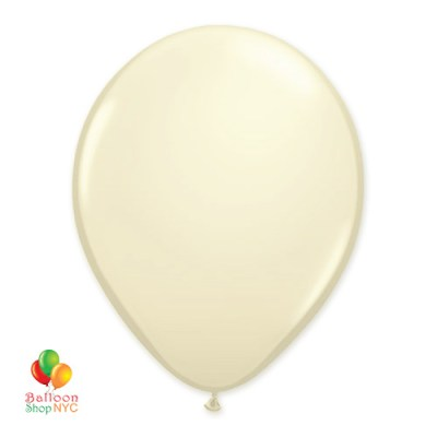 Ivory Latex Party Balloon 12 inch Inlated delivery Balloon